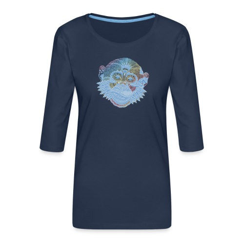 affe - Frauen Premium 3/4-Arm Shirt