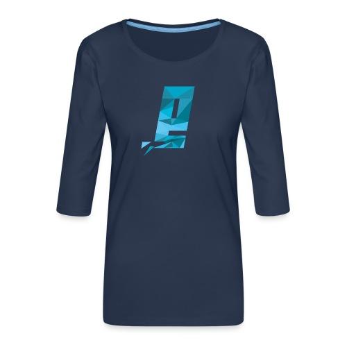 Eventuell Logo small - Shirt White - Frauen Premium 3/4-Arm Shirt