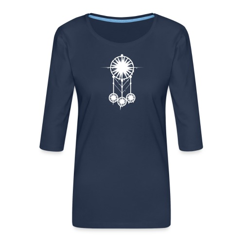 DREAM CATCHER - T-shirt Premium manches 3/4 Femme