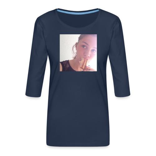 Det' toastBeks - Dame Premium shirt med 3/4-ærmer
