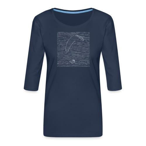 Paraglider - Frauen Premium 3/4-Arm Shirt