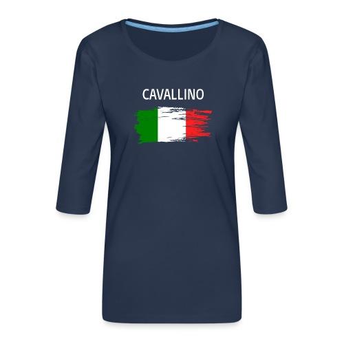 Cavallino Fanprodukte - Frauen Premium 3/4-Arm Shirt