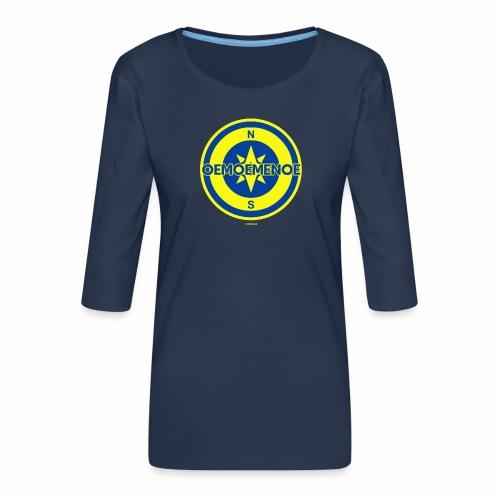 Oemoemenoe - Vrouwen premium shirt 3/4-mouw