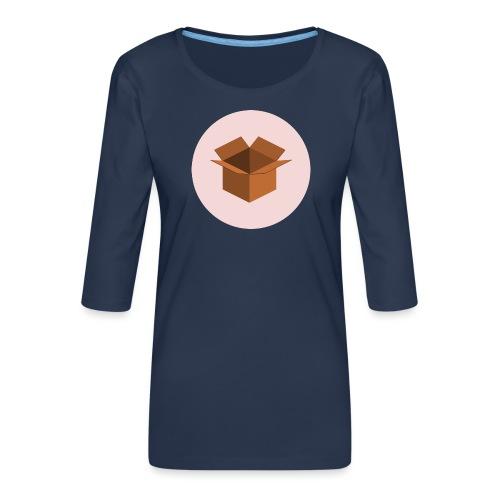 Box - Frauen Premium 3/4-Arm Shirt