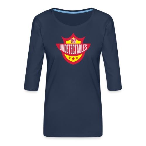 Undetectables voorkant - Vrouwen premium shirt 3/4-mouw