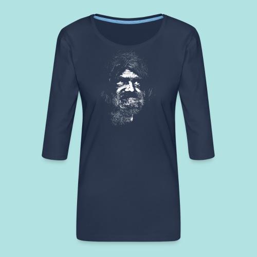 Old Guy, Eyes Open. - Women's Premium 3/4-Sleeve T-Shirt