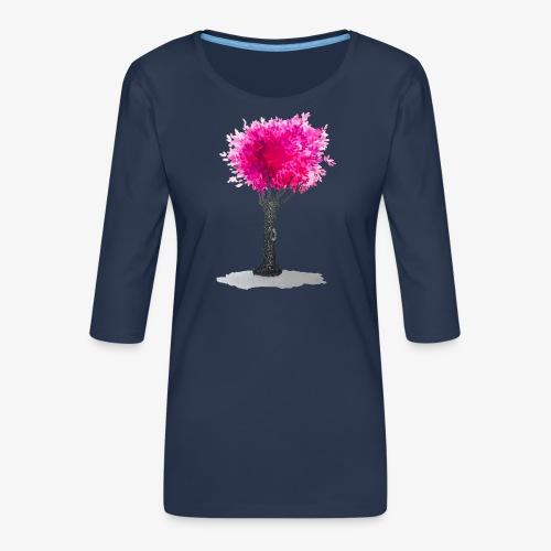 Tree - Women's Premium 3/4-Sleeve T-Shirt