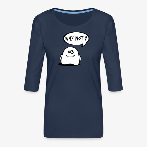 gosthy - Women's Premium 3/4-Sleeve T-Shirt
