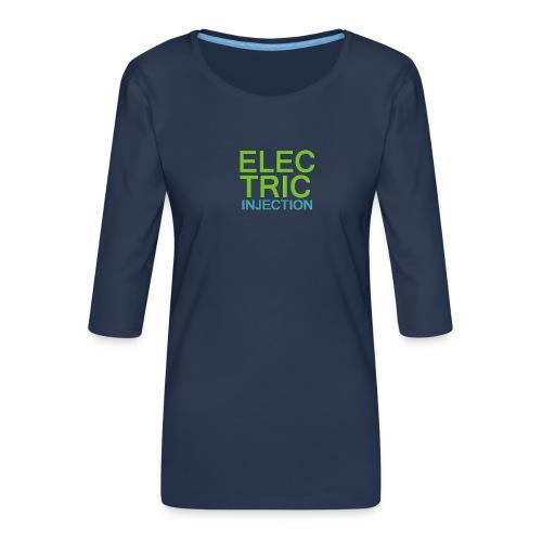 ELECTRIC INJECTION basic - Frauen Premium 3/4-Arm Shirt