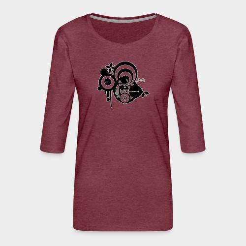 YA ESTAN AQUI - Camiseta premium de manga 3/4 para mujer