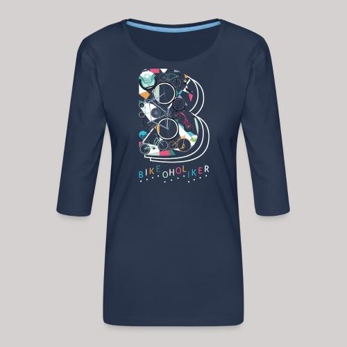 Bikeoholiker - Frauen Premium 3/4-Arm Shirt