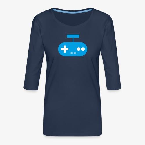 PREMIUM SO GEEEK GAMING - MINIMALIST DESIGN - T-shirt Premium manches 3/4 Femme