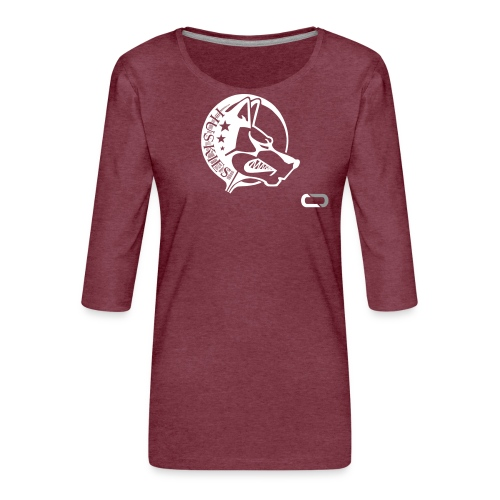 CORED Emblem - Women's Premium 3/4-Sleeve T-Shirt