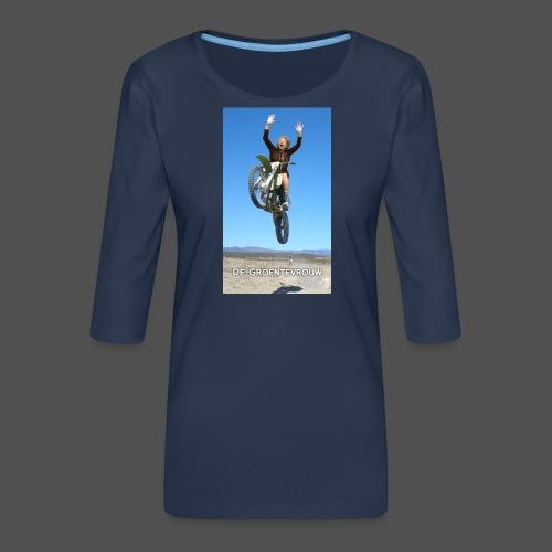 Stuntvrouw (v) - Vrouwen premium shirt 3/4-mouw
