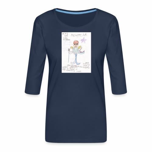 Big Swimmer Bill DHIRT - Women's Premium 3/4-Sleeve T-Shirt