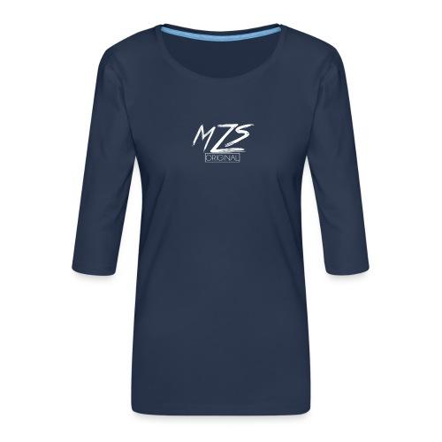 MrZombieSpecialist Merch - Women's Premium 3/4-Sleeve T-Shirt