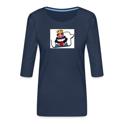 Cartoon - Maglietta da donna premium con manica a 3/4