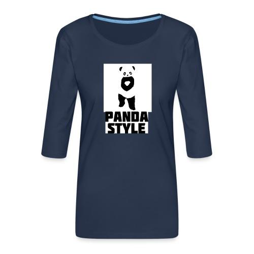 fffwfeewfefr jpg - Dame Premium shirt med 3/4-ærmer