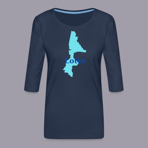 Lotte - Frauen Premium 3/4-Arm Shirt