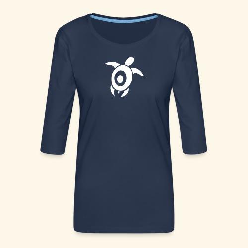 Wasserschildkröte - Frauen Premium 3/4-Arm Shirt
