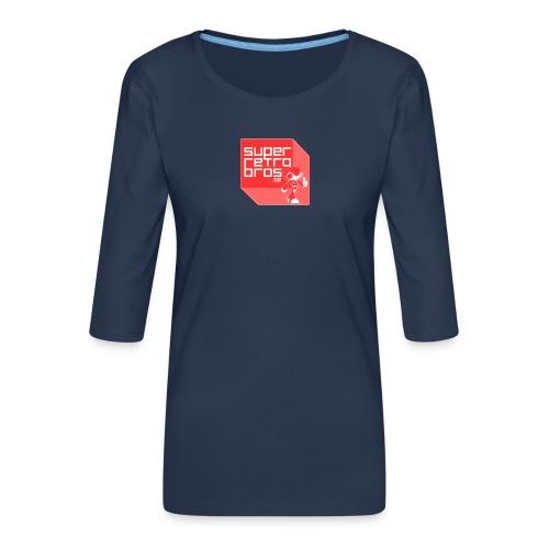 SRBbild png - Premium-T-shirt med 3/4-ärm dam