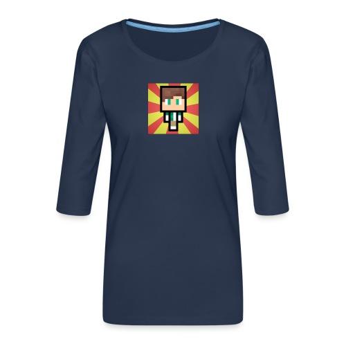 m crafter - Dame Premium shirt med 3/4-ærmer
