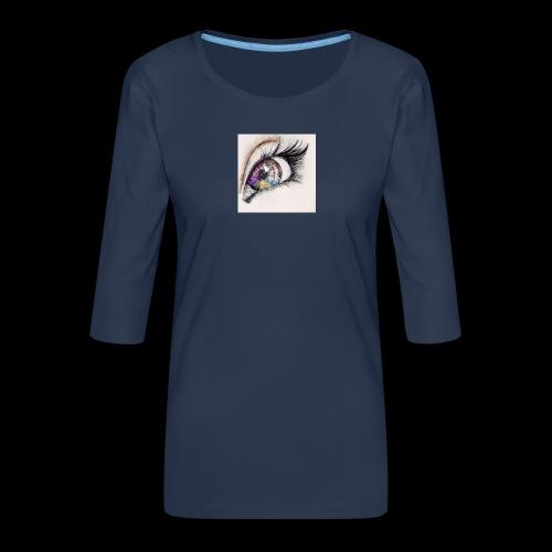 desenho design olhos eye Favim com 403064 - Vrouwen premium shirt 3/4-mouw