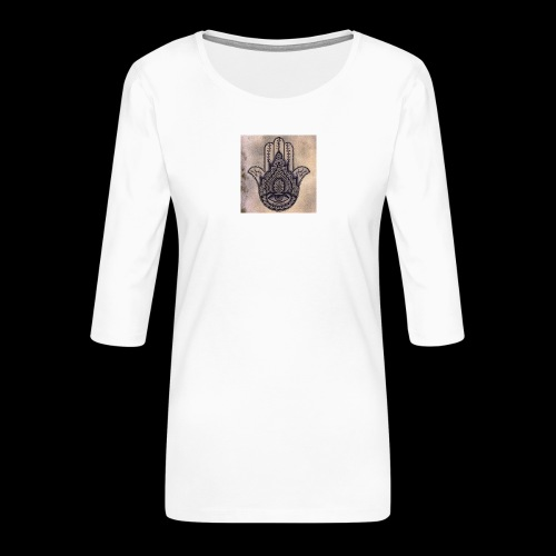 0fb3c3186e5803652adaa4a80715af22 - Vrouwen premium shirt 3/4-mouw