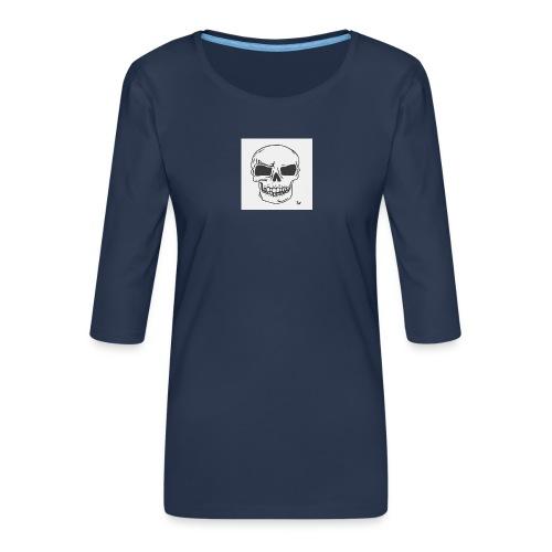Skull Magic - Women's Premium 3/4-Sleeve T-Shirt