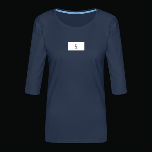 bafti hoodie - Dame Premium shirt med 3/4-ærmer