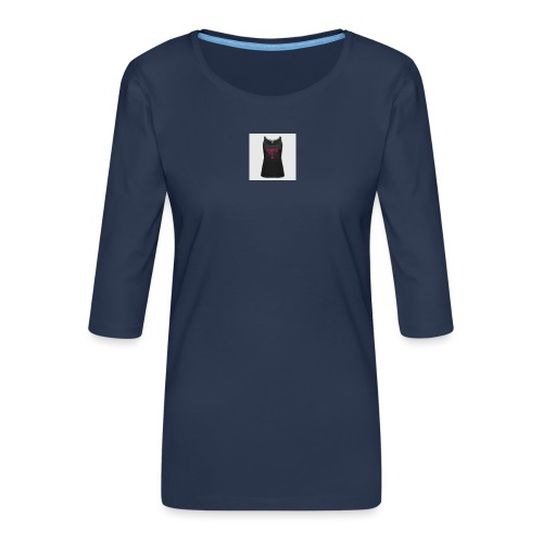 160367762 width 300 height 300 appearanceId 2 back - Dame Premium shirt med 3/4-ærmer
