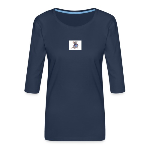rotte - Dame Premium shirt med 3/4-ærmer