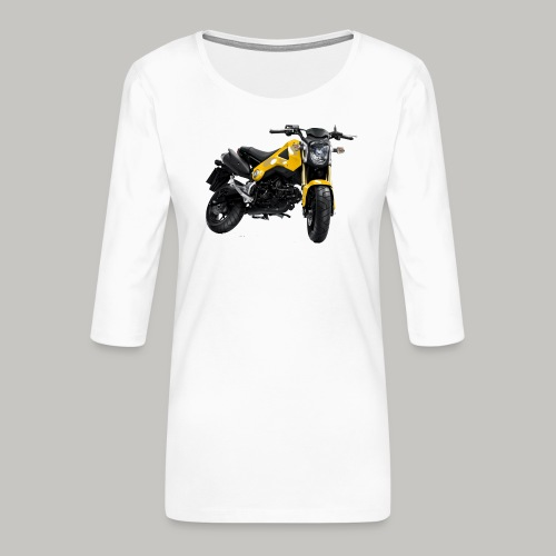 Grom Motorcycle (Monkey Bike) - Women's Premium 3/4-Sleeve T-Shirt