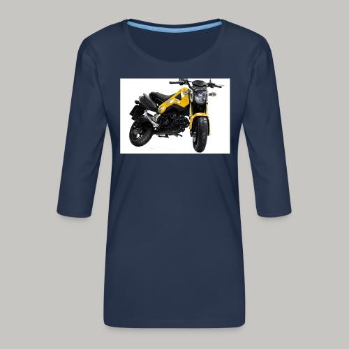 Grom Motorcycle (Monkey Bike) - Women's Premium 3/4-Sleeve T-Shirt