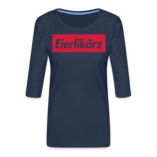 Eierlikörz SSFW 2017 Shirt - Frauen Premium 3/4-Arm Shirt