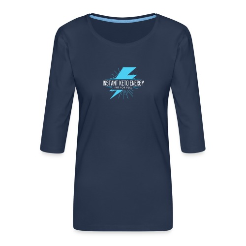 instantketoenergy - Frauen Premium 3/4-Arm Shirt