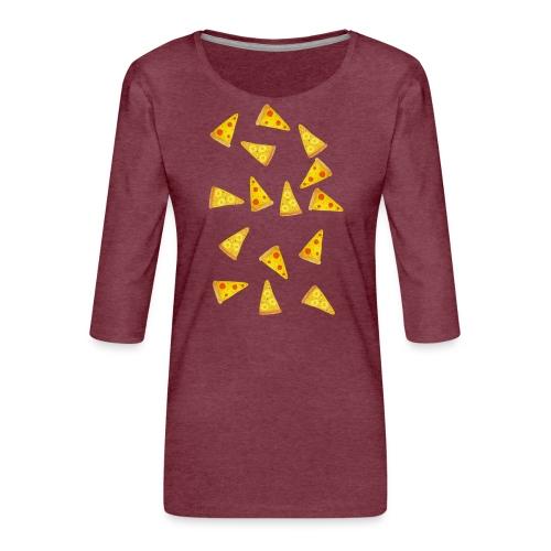Pizza is Bae - Frauen Premium 3/4-Arm Shirt