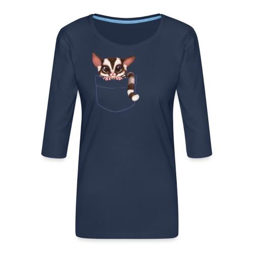 Sugar Glider - Frauen Premium 3/4-Arm Shirt