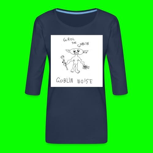 Goblin Noise - Women's Premium 3/4-Sleeve T-Shirt