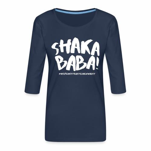 shaka - Naisten premium 3/4-hihainen paita