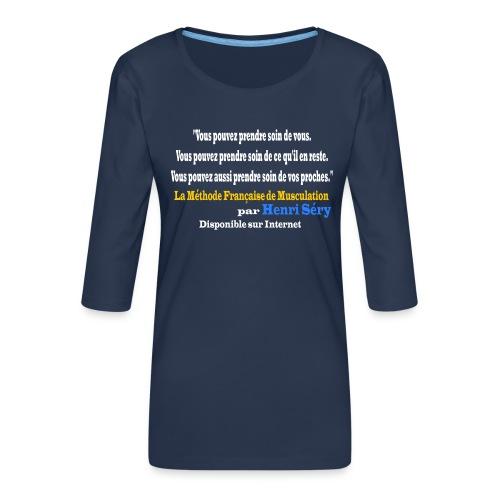 LMF Sante v2 - T-shirt Premium manches 3/4 Femme