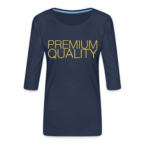 Premium quality - T-shirt Premium manches 3/4 Femme