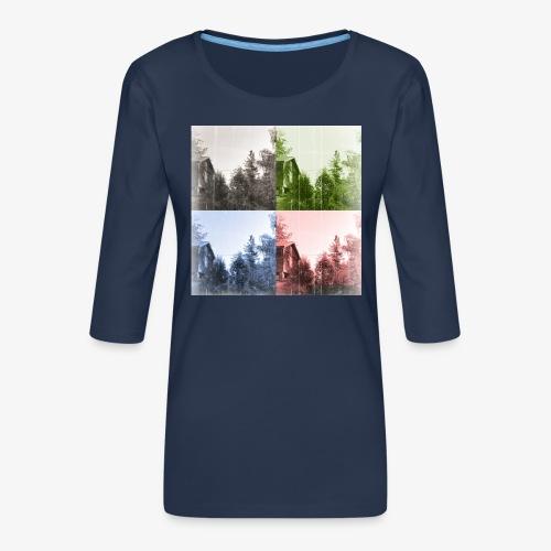 Torppa - Naisten premium 3/4-hihainen paita