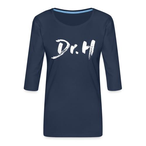 Sweat femme col bateau Dr. H - T-shirt Premium manches 3/4 Femme