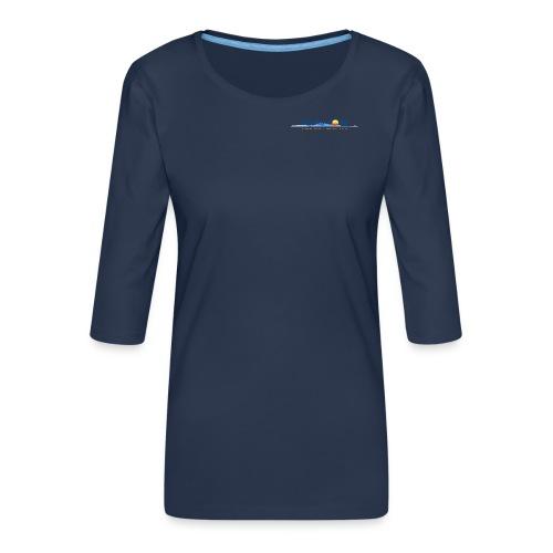 Mythos Corfu Griechenland - Frauen Premium 3/4-Arm Shirt