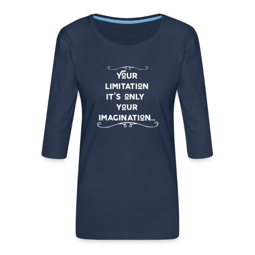 Motivation - Frauen Premium 3/4-Arm Shirt
