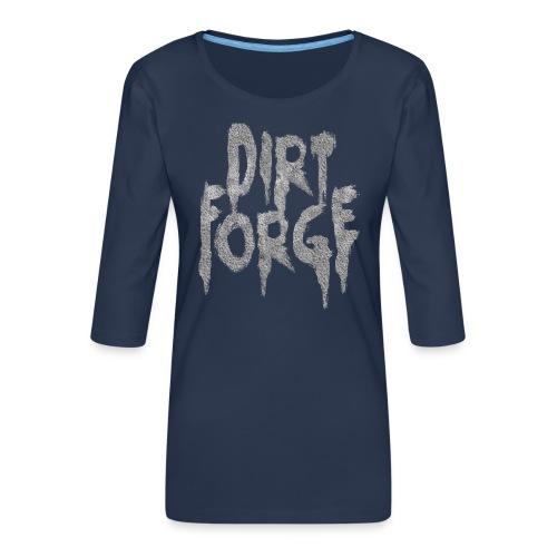 Dirt Forge Gravel t-shirt - Dame Premium shirt med 3/4-ærmer