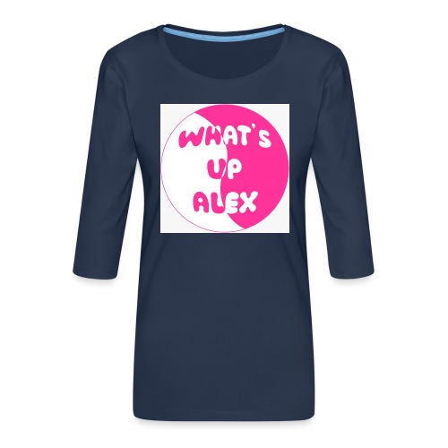 45F8EAAD 36CB 40CD 91B7 2698E1179F96 - Women's Premium 3/4-Sleeve T-Shirt