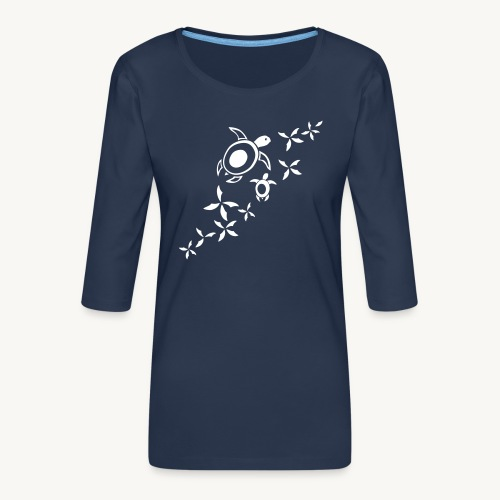 Meersschildis_VK3 - Frauen Premium 3/4-Arm Shirt