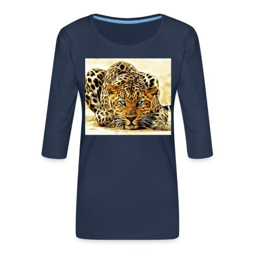 IL SIMBOLO DEL CANALE - Maglietta da donna premium con manica a 3/4